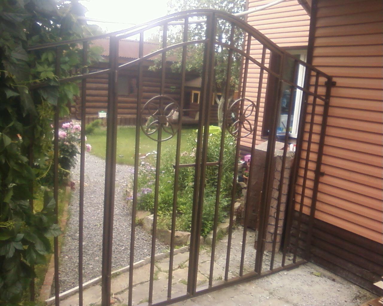 ворота и заборы из металла в челябинске