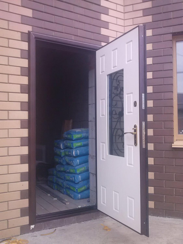 металлические двери на заказ нестандартные утеплённые