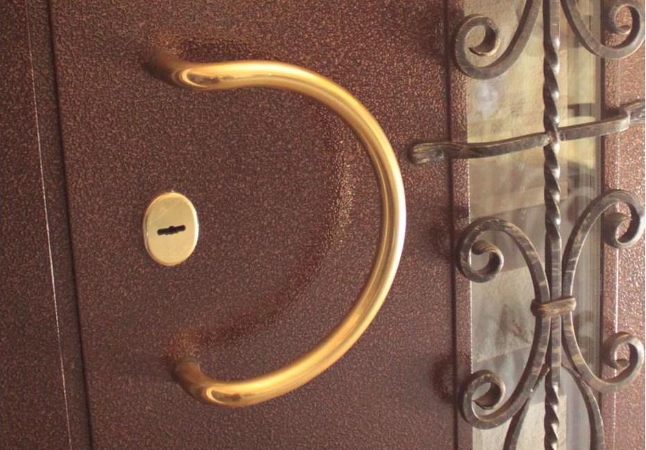 монтаж металлической двери без покупки